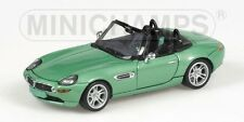 Bmw Z8 2001 Green Metallic 1:43 Model MINICHAMPS