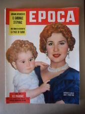 EPOCA n°129 1953  La pace di Faruk - Cardinale Stepinac - Narriman  [G774]