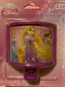 Disney Princess Automatic Night Light LED 13362 Long Life Low Energy