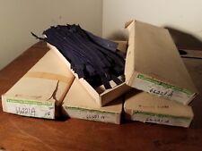 """VTG TALON Zephyr Zippers (100) - 7"""" Blue Nylon Coil #703-19-7-267 NOS  USA"""