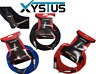 Angled Guitar Lead 6.35mm Mono / Electric / Patch Cable / Acoustic / Bass /