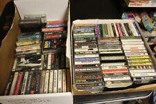Quantity 130+ Vintage Audio Cassette Tapes Rock  - Kiss, Motely Crue, Led