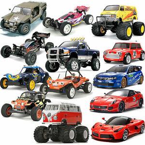 TAMIYA RC Radio Control Cars Trucks Assembly Kits 1:10 1:12 Choose
