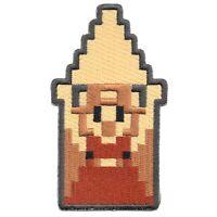 Nintendo Legend of Zelda Princess Zelda Triforce 8Bit Embroidered Iron on Patch