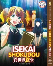 Isekai Shokudou Vol.1-12 End Dvd Anime English Subtitle Region All