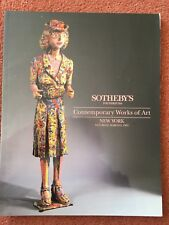 Sotheby's Auction Catalogues - Contemporary Works of Art - 6 March 1993