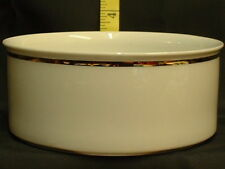 THOMAS CHINA WIDE GOLD 799 OPEN FRUIT SALAD BOWL NEW