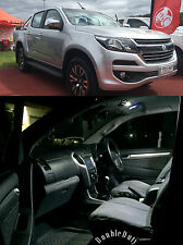 HOLDEN COLORADO DUAL CAB 2012-2018+ INTERIOR LED UPGRADE KIT - SUPER BRIGHT!!!