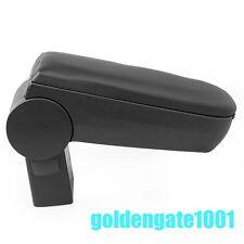 Black Center Console Armrest Storage Box For 2000-04 VW Golf /Jetta/Bora Mk4 GG