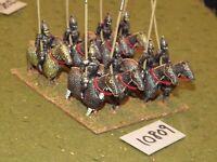25mm roman era / roman - late cataphracts 8 cavalry - cav (10809)