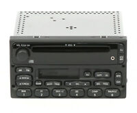 Ford Trucks 1998-2010 AM FM CD Cassette Radio w Auxiliary Input YU3F-18C868-AA