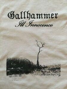 Gallhammer 'Ill Innocence' 2007 Euro Tour T-shirt Rare XL Mint. Doom Metal Crust