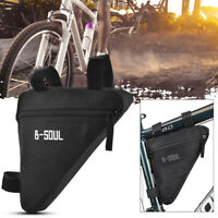 Mountain Bike Triangle Frame Storage Bag Bicycle Front Tube Top Tube Pouch CS675
