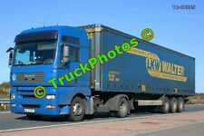 Truck Photo TR-00395 MAN  Reg:- AG97DRY Op:- LKW Walter M20 Dover Lorry Kent