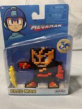 NEW Mega Man Elec Man Thunder 8 Bit Figure JAKKS Pacific 30th Anniversary CAPCOM