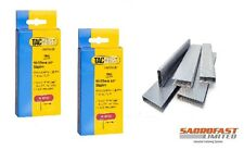 TACWISE 91 TYPE STAPLES (2 BOXES OF 1,000)