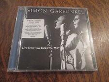cd album simon & garfunkel live from new york city, 1967