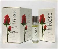 Box Of 6 Rose 6ml By Ahsan Concentrated Perfume Oil / Attar / Ittar
