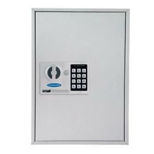 Large Key Cabinet Wall Mounted Electronic Lock Key Hooks 200 Keys Rottner