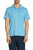 Onia Eric Polo Shirt, Vintage Blue, Size L, MSRP $75