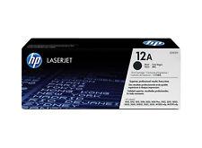 HP Genuine 12A Q2612A Black Toner Laserjet 1025 3015 3020 3030 3050 - 2K Pages