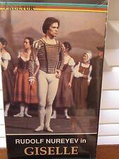 RUDOLF NUREYEV IN GISELLE Dance Series Kultur VHS Dutch National Ballet NEW