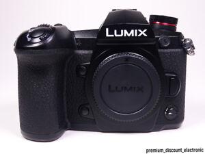 Panasonic Lumix DC-G9 Kamera 4K Digitalkamera G9 DSLM Body black Gehäuse OVP