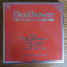 Beethoven The Nine Symphonies - Kurt Sanderling 8 LP Box Set - EMI Digital