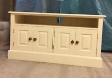 Painted TV Cabinet with 4 doors