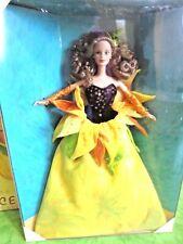 BARBIE SUNFLOWER VAN GOGH NRFB - new model doll collection Mattel