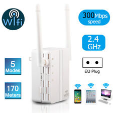 300Mbps Wifi Extender Repeater Wireless Router Range Networking Signal Booster