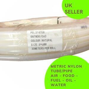 NYLON TUBE METRIC PNEUMATIC Air Line  Flexible Hose AIR FUEL - HIGH QUALITY -