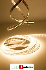 LEDupdates LED Strip 3000k Warm White 24v High Grade 2216 90CRI + UL Power