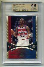 MICHAEL JORDAN 2003-04 SP GAME USED GOLD TRIBUTE CARD 12/50 BGS 9.5 GEM MINT