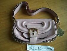 Gianni Versace pink leather shoulder bag authentic purse hand satchel