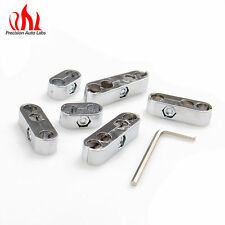 BRAND NEW UNIVERSAL SILVER ENGINE SPARK PLUG WIRE SEPARATOR DIVIDER CLAMP KIT