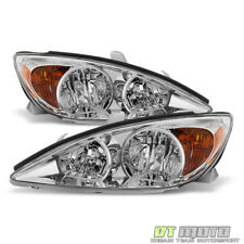 For 2002 2003 2004 Toyota Camry Headlights Headlamps Replacement Lamp Left+Right