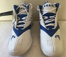 "Vintage Shaq ""Falcon"" White /Royal Shoes Size 11 Brand New With Original Box"