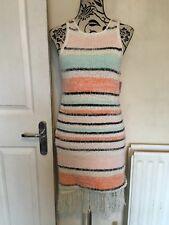 Juicy Couture Dress- Sweater,Sorbet Stripe, Sleeveless Ladies Size M (10-12) New