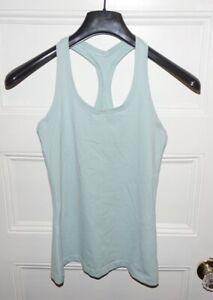 Lululemon Size 6 Tank Top Mint Green Athletic Casual Scoop Neck Stretchy