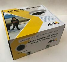 Axis Indoor PTZ Dome Network Camera  M5013-V POE IK10 H.264 IP66 BRAND NEW