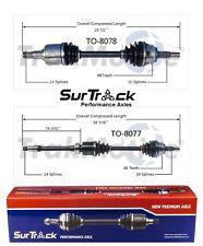 2 Front CV Axle Shafts SurTrack Set for Lexus ES300 ES330 Toyota Camry FWD 02-06