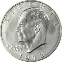 1973 S Eisenhower Dollar BU Uncirculated Mint State 40% Silver IKE $1 Coin