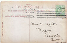 "Genealogy Postcard - Family History - Upton - ""Grays"" - Petworth - Sussex U2103"