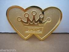 2004 Krewe of Mid-City New Orleans Mardi Gras Luncheon Goldtone Pin