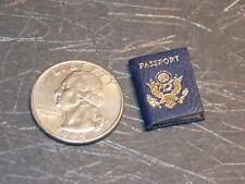 Dollhouse Miniature Passport Book Travel 1:12 one inch scale A31 Dollys Gallery
