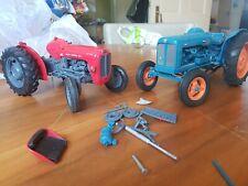 1/16 Die Cast Tractors X2
