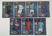 2019/20 Match Attax UEFA Soccer Cards - Set of 7 100 Club cards Alisson Mane