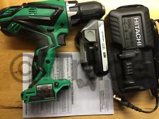 Hitachi DS18DGL 18V Cordless Drill w/ Li Battery BSL1815S Charger UC18YKSL NEW