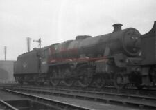 PHOTO  LMS 45608 GIBRALTER IN THE SHED YARD AT BRISTOL BARROW ROAD IN 1962 3/4R